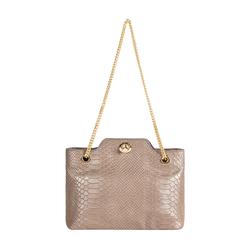 Sb Aliya 01 Women's Handbag Snake,  metallic