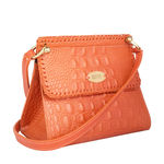 Zoey Women s Handbag, Baby Croco Melbourne Ranch,  lobster