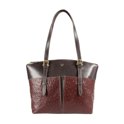 Virgo 01 Sb Women's Handbag Ostrich,  brown