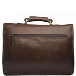 Parma Briefcase, ranchero,  brown