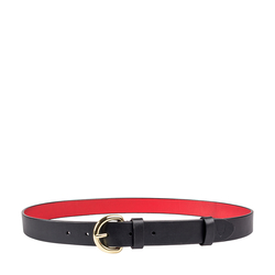 Mariko Women's Belt, Ranch 36-38,  black