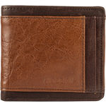 266-010(Rfid) Mens Wallet Regular Camel,  tan