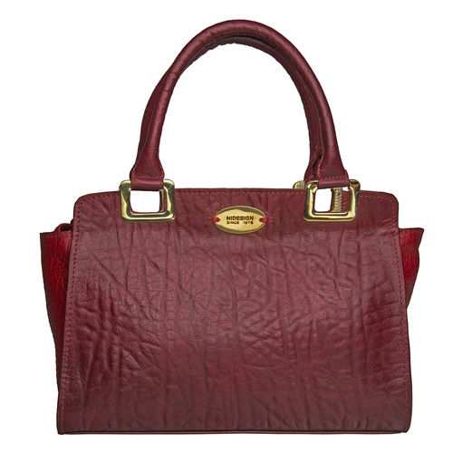 Claudia 02 Women s Handbag, Elephant Cement Pebble,  red