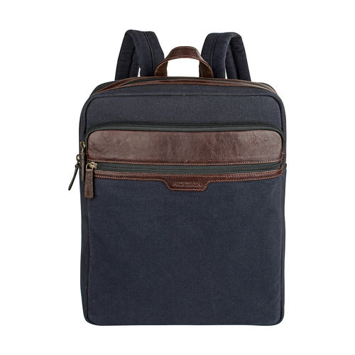 Viking 02 Men s Back Pack, Canvas E. I Goat,  navy blue