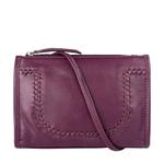 Mina 01 Women s Handbag, Roma,  aubergine