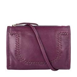 Mina 01 Handbag,  aubergine