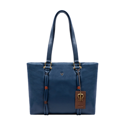 MOKSHA 01 WOMENS HANDBAG THICK LAMB,  midnight blue