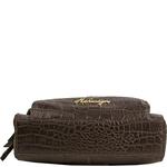 109 03 Women s Handbag, Croco,  brown