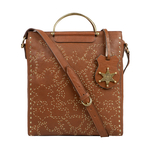 WILD ROSE 01 WOMENS HANDBAG KALAHARI,  tan