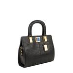Earley 02 Women s Handbag, Cement Croco,  black