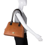 Frankfurt 01 Sb Women s Handbag, Hdn Woven Melbourne Ranch,  tan