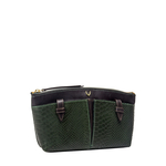 Virgo W5 (Rfid) Women s Wallet, Melbourne Ranch Snake,  emerald green