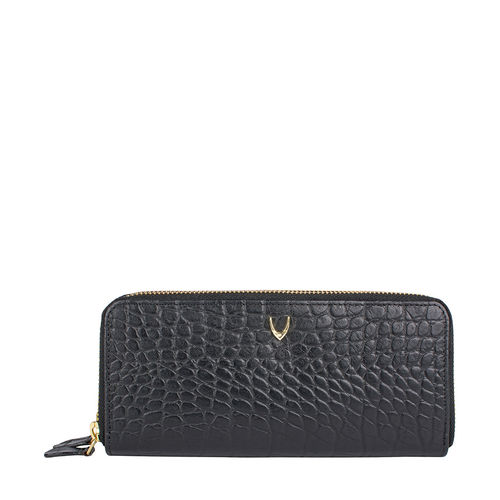 Martina Women s Wallet, Croco,  black