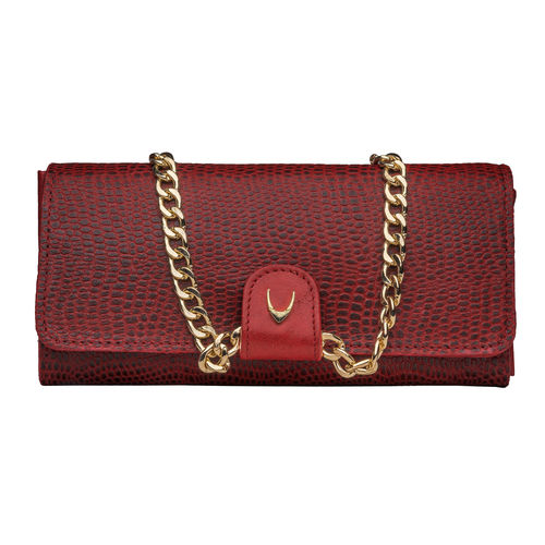 Dolce W1 (Rfid) Women s Wallet, Lamb,  red