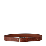 Ee Lewis Men s Belt Glazed Croco Printed,  tan, 38