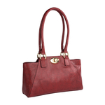 Subra 01 Women s Handbag, Lizard,  red