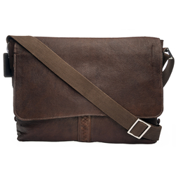 Camaro 01 Messenger Bag, siberia,  brown