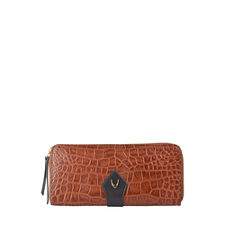 EE SCORPIO W2(RFID) WOMENS WALLET CROCO,  tan