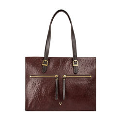 Neptune 03 Sb Women's Handbag Ostrich,  brown