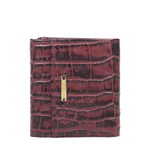 523 RF WOMENS WALLET CROCO,  aubergine