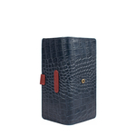 Scorpio W1 Sb (Rfid) Women s Wallet Croco,  midnight blue