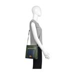 Libra 03 Sb Women s Handbag, Melbourne Ranch Snake,  emerald