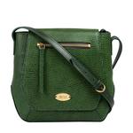 Taurus 01 Women s Handbag, Lizard Melbourne Ranch,  green