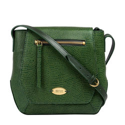 Taurus 01 Women's Handbag, Lizard Melbourne Ranch,  green