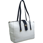 Sb Atria 02 Women s Handbag Cement Croco,  white