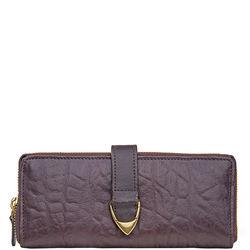 Yangtze W2 Women's Wallet,  aubergine, elephant