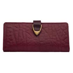 Yangtze W1 (Rfid) Women's Wallet, Elepant Ranch,  aubergine
