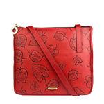 Keaton 03 Women s Handbag, E. I. Leaf Emboss Melbourne Ranch,  dark red