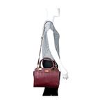 Claudia 02 Women s Handbag, Elephant,  aubergine