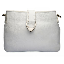 Norah W1 Women's Wallet, pebble,  white