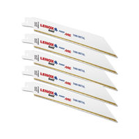 "Lenox USA Reciprocating/Sabre Saw 6"" x24TPI (5Pc Pack)"