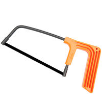 Clarke England Junior Hacksaw Frame Orange Handle