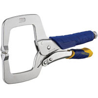 Irwin Fast Release C-Clamp Locking Plier Regular Tips, 6 /150mm