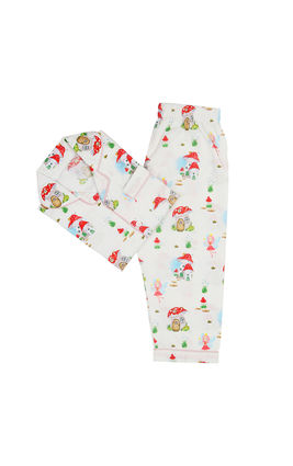 Gnome House & Fairy PJ Set, 6m-12m