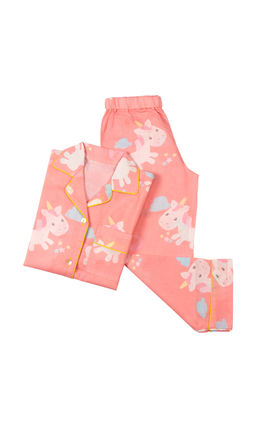 Unicorn PJ Set, 6m-12m