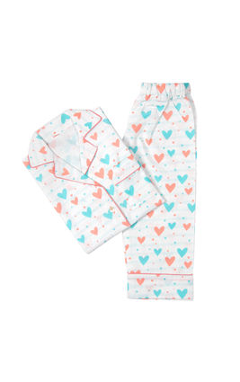 All Hearts PJ Set, 3yr-4yr