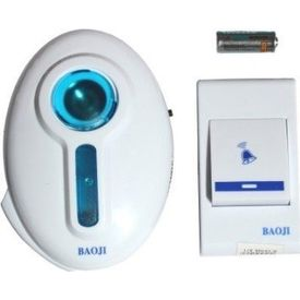 Battery operated remote bell
