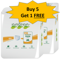 Nateen Soft Pull up Diaper - 5+ 1 Combo Offer, large