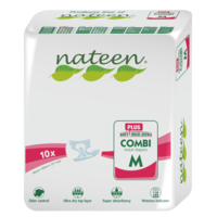 Disposable Adult Diaper - Nateen Plus - Medium