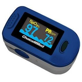 Fingertip pulse oximeter (ChoiceMMed)