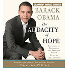 The Audacity of Hope: Thoughts on Reclaiming the American Dream[ Abridged, Audiobook] [ Audio CD] Barack Obama (Author, Narrator)