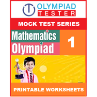Class 1 Maths Olympiad - 20 Mock tests - Printable Worksheets