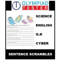 Class 4 Daily Sentence Scramble - 200 Puzzles