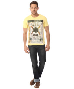 T SHIRT,  yellow, m/38 cm, s15rfp7053
