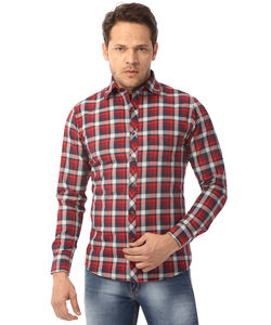Shirt, xl/42 cm,  red, w15cls2032