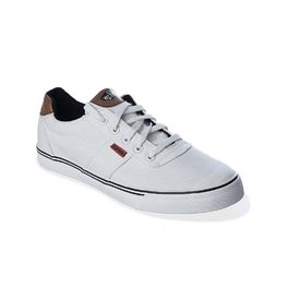 Romanfox White-casual-Sneaker With one year exchange warranty, white, 7